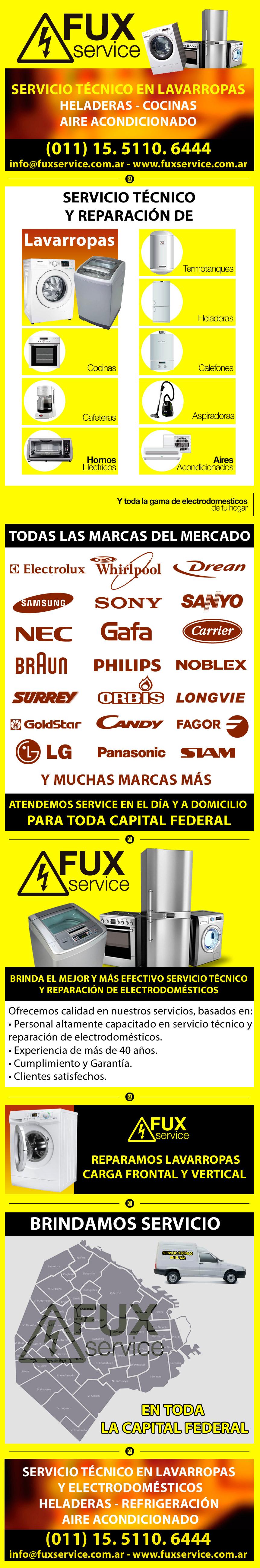 Fux Service - Reparación de lavarropas